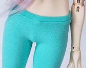 SD legging Feeple BJD clothes Light Aqua Legging MonstroDesigns Ready to ship