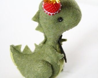 Handmade Dinosaur Cake Topper Party Decoration