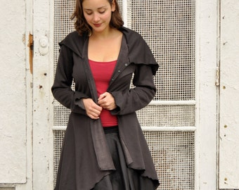 Nina Coat ~ Organic Bamboo Fleece ~ Made to Order