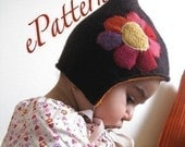 Elf hat- Instant download pattern - 0/6m to 5T