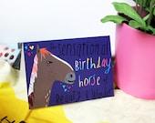 Sensational Birthday Horse cc164