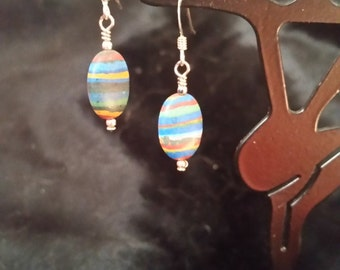 996 Rainbow Calsilica Earrings
