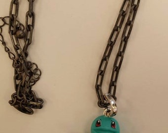 Squirtle Pokemon Necklace