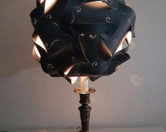 "12""14"" & 15"" Le Elegance Pierced Entwined Panals Lamp Shade"