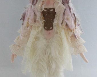 CENTAUR FANTASY DOLL, soft sculpture handmade doll, fairy centaur rag doll