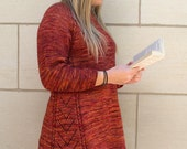 Chili Pepper Tunic Knitting Pattern - PDF