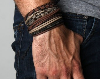 Husband Gift, Mens Jewelry, Mens Bracelet, Burning Man, Mens, For Men, For Boyfriend, Man Gifts, Boyfriend, Boyfriend Gift, Gift for Men