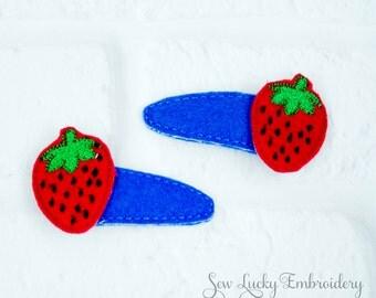 Strawberry Clippy Set