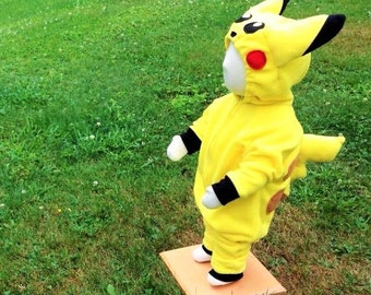Custom Electric Type Yellow Creature Costume