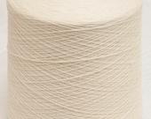 1 Kg Cone Merino Superwash/Nylon Sock Yarn - Natural White