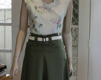 Summer fun . 1930's / 40's Vintage style Culottes,