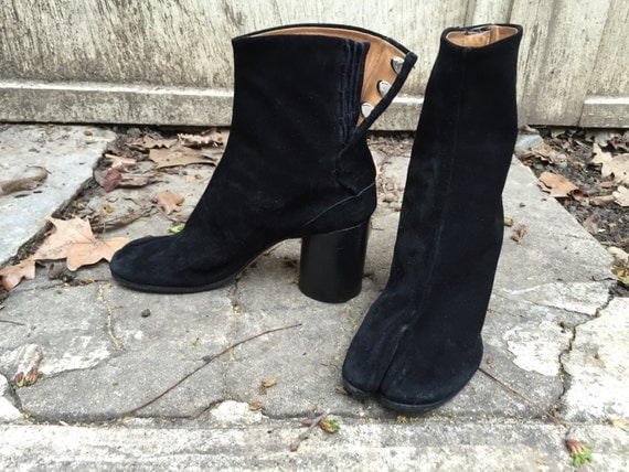 RESERVED 40.5 MARGIELA TABI boots split toe by AGORAPHOBE ...