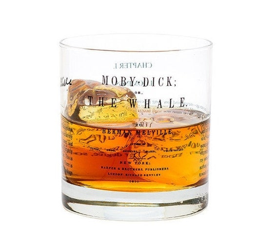 Moby Dick - Literature Rocks Glass
