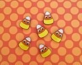 Halloween Pin - Candy Corn Pin - Candy Corn - Creepy Cute Pin - Halloween Jewelry - Halloween Party Favours - Spoopy Pin