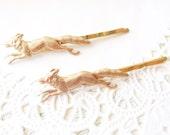 Golden Fox Bobby Pins - Fox Hair Pins - Woodland Hair Pin Set - Forest Friends - Woodland Animal Hair Pins - Wedding Hair - Bridal