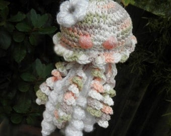 Cuddly Jellyfish - PDF Crochet Pattern - Great For Beginners