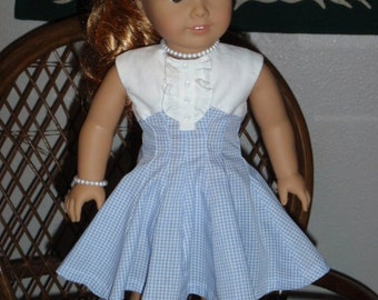 1950s Dress for American Girl Maryellen 18 inch doll