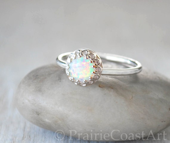 Items Similar To Opal Ring Exquisite Braided Opal: Items Similar To Opal Ring In Sterling Silver