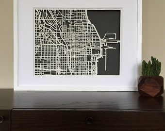 Chicago FRAMED and ready to ship SALE