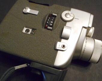 Vintage Camera Canon Movie Camera Motor Zoom 8 EEE