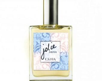 Botanical Perfume - Jolie Vegan Very soft romantic notes of orange, ylang, patchouli