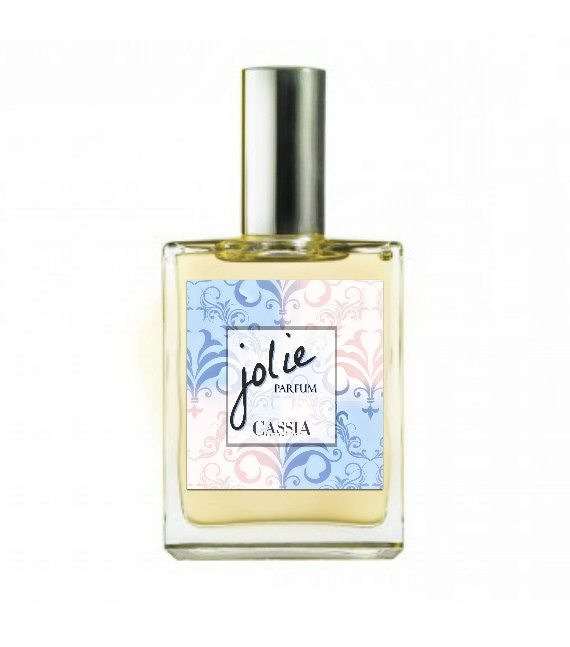 Botanical Perfume - Jolie Vegan Very soft romantic notes of orange, ylang, patchouli