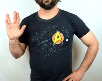 Vintage 1989 Star Trek Tshirt Tee Shirt