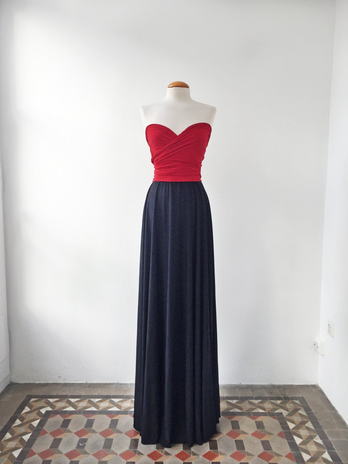 Navy blue bridesmaid dress navy and red dress bridesmaid details navy blue bridesmaid dress ombrellifo Choice Image