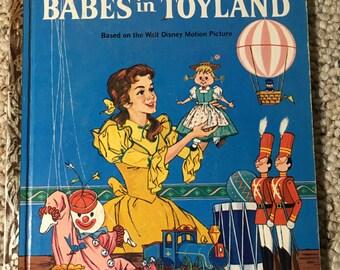 1961 A Little Golden Book Walt Disney's Babes In Toyland