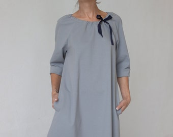 Bridesmaid dress | Engagement dress | Grey dress | LeMuse bridesmaid dress