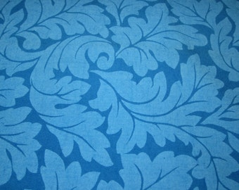 Blue tone on tone quilting fabric, 3 yards, L