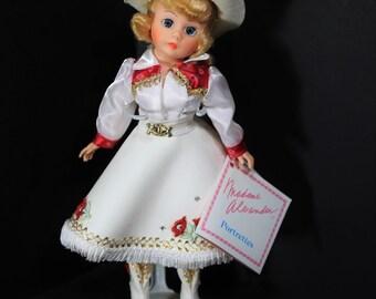 1132, Madame Alexander Dolls Cowgirl Madame Alexander Doll Vintage