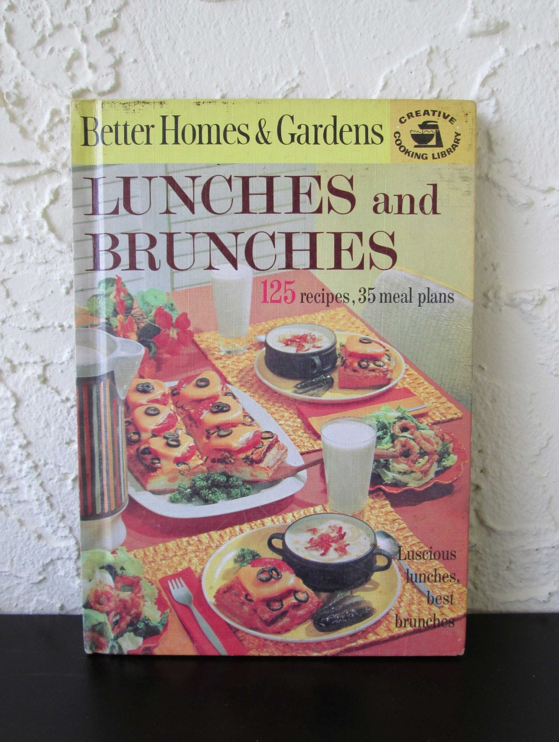 Vintage Cookbook Better Homes And Gardens Lunches And Brunches