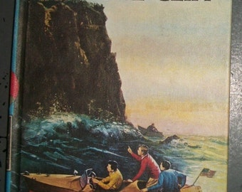 Vintage Hardy Boys Detective Series Books #2 House on the Cliff