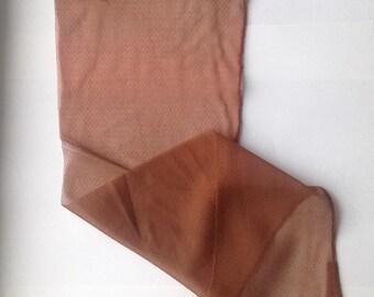 Vintage Kantrum Cuban Heel Seamed Stockings- 2 Pair NOS Thirds