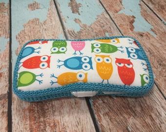 Owl Travel Wipe Case Baby Wipe Case Ready to Ship