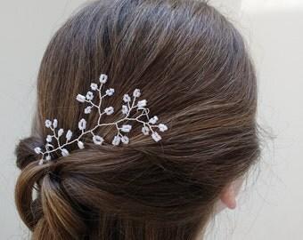 Wedding Dress SAMPLE SALE -- Hairpiece - Handmade Beaded Bridal Hair Accessories
