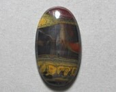 Reserved Listing TIGER IRON cabochon oval 20X35mm designer cab