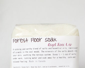 Forest Floor Bathing Salts - Nature Inspired