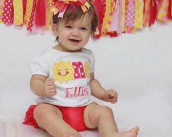 First Birthday Shirt - You Are My Sunshine Birthday Shirt - Girls First Birthday Shirt -  You Are My Sunshine One Birthday Shirt - Sun Shirt