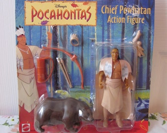 Disney's Pocahontas - Chief Powhatan Action Figure
