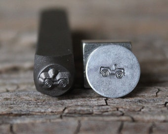 Jeep Metal Stamp-6mm Size-Steel Stamp-New Metal Design Stamps-by Metal Supply Chick-DCH57