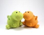 Lou the T-Rex PDF Crochet Amigurumi Pattern