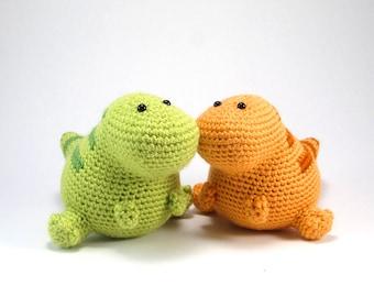 Lou the T-Rex PDF Crochet Pattern