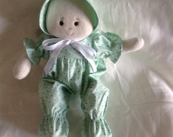 """A Faithful Friend Handmade Soft Doll Cloth Doll Baby Doll First  Baby Doll Baby Shower Doll Washable Doll 13"""""""