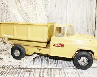 Buddy L Dump Truck, Metal Toy Dump Truck, Vintage 1960, Truck Pressed HD Steel Toy Vehicle USA
