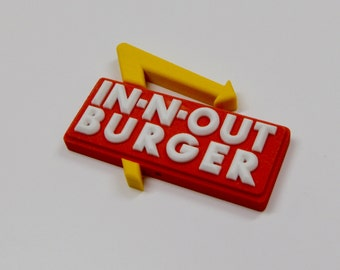 In-N-Out Burger Miniature Sign