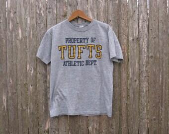 Vintage Tufts Athletic Dept Tshirt Mens Medium