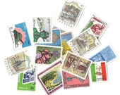 16 Vintage Italian assorted STAMP set - Antique STAMPS from Italy