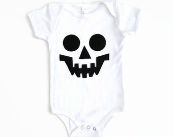White Skeleton One Piece or T Shirt Unisex Halloween